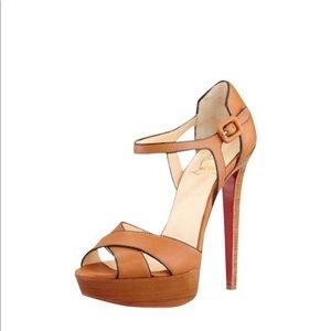 Louboutin Sporting Fauve Sandal 👡
